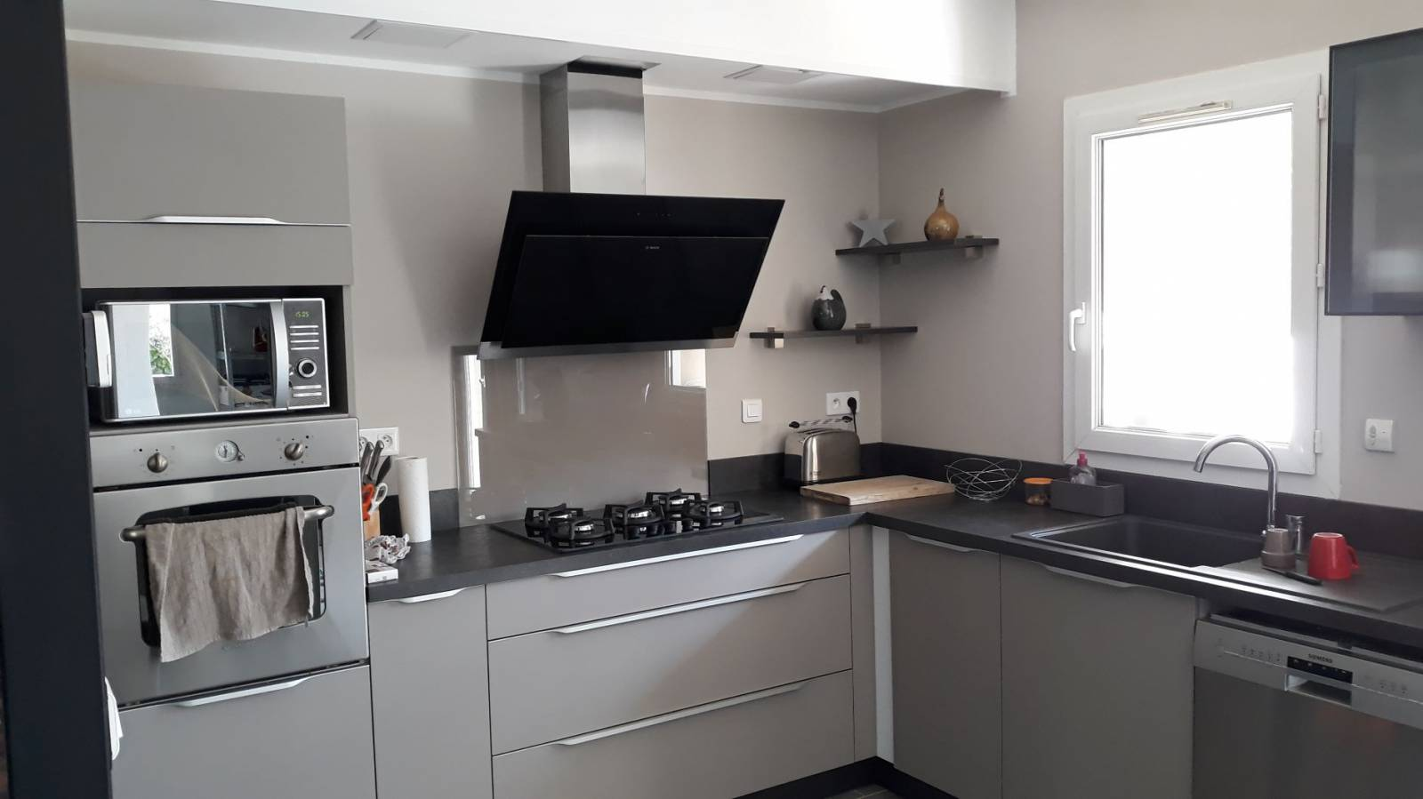 Installation d\'une cuisine Moderne à SAINT MAXIMIN LA STE BAUME (83 ...