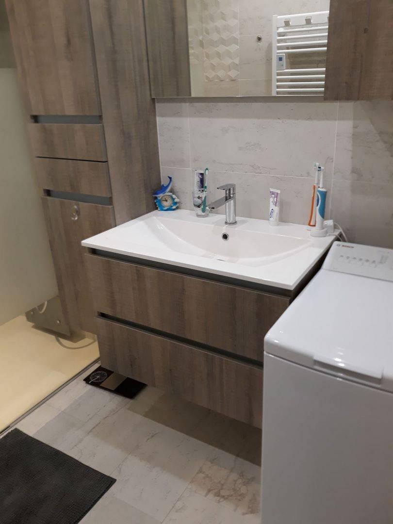 Réalisation d\'une salle d\'eau sur mesure avec douche à l\'Italienne ...